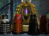 dalek emperor and staff